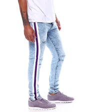 Buyers Picks - Distressed Jean with Paint Stripe-2471545