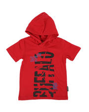 Buffalo - Buffalo Graphic Jersey Hooded Tee (4-7)-2469315