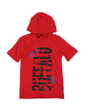 Buffalo - Buffalo Graphic Jersey Hooded Tee (8-20)-2469329