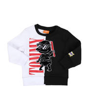 Sizes 2T-4T - Toddler - Cool Tommy Rugrats Color Block Crew Neck Sweatshirt (2T-4T)-2469476