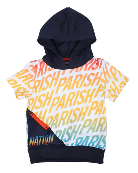 Parish - Pullover Hoodie W/Engineer (2T-4T)