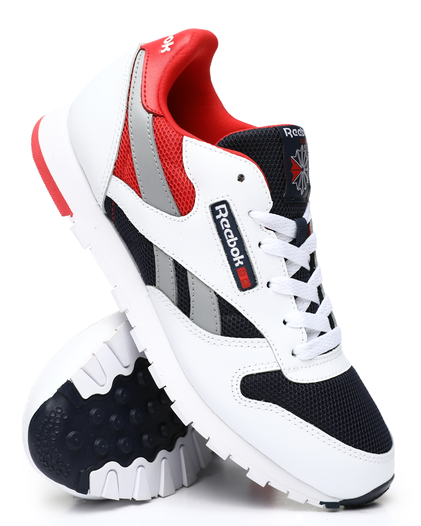 CL Leather Color Block Sneakers (3.5-7