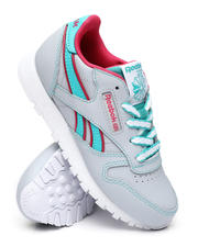 Girls - Classic Leather Sneakers (11-3)-2470267