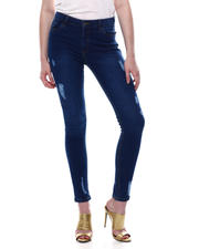 Jeans - DISTRESSED HIGH WAIST 5 POCKET JEAN-2467796