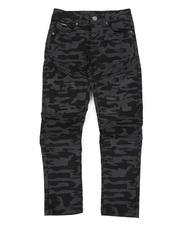 Boys - Skinny Stretch Camo Moto Jeans (8-18)-2470433