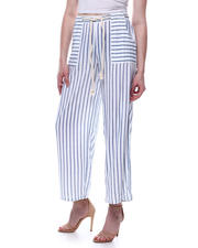 Bottoms - Challis Porkchop Pkt Pant W/Rope Belt-2471754