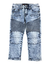 Sizes 4-7x - Kids - Skinny Stretch Moto Jeans (4-7)-2470293