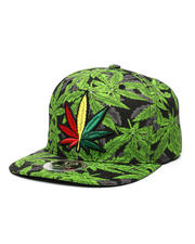 Men - Leaf Snapback Hat-2470213