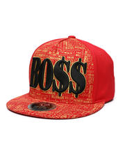 Men - Boss Snapback Hat-2470276