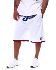 Julius Erving (DR. J) - Dr. J Mesh/Poly Knit Mens Short (B&T)-2472159