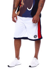 Julius Erving (DR. J) - Side Stripe Mesh Knit Shorts (B&T)-2472256