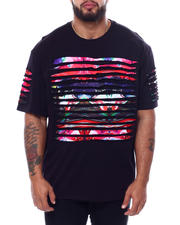 Buyers Picks - Razor Slashed S/S Tee W/ Gradient Print (B&T)-2472303