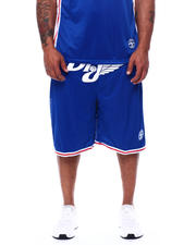 Julius Erving (DR. J) - Dr. J Mesh/Poly Knit Mens Short (B&T)-2472352