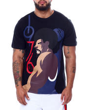 Julius Erving (DR. J) - Dr. J Cotton T-Shirt Screen Printing (B&T)-2472478