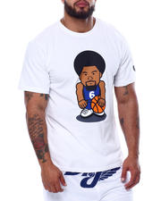 Julius Erving (DR. J) - Dr. J Cotton T-Shirt W/Screen Printing (B&T)-2472487