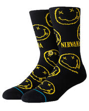 DRJ SOCK SHOP - Nirvana Face Crew Socks-2472588