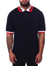 Buyers Picks - Embroidered Collar Polo Shirt (B&T)-2471965