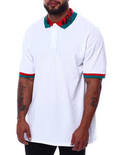 Buyers Picks - Embroidered Collar Polo Shirt (B&T)-2471969