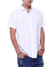 Men - SS Solid Poplin Shirt-2471849