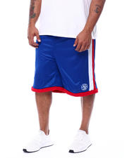 Julius Erving (DR. J) - Side Stripe Mesh Knit Shorts (B&T)-2472216