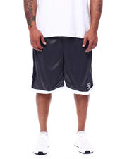 Julius Erving (DR. J) - Side Stripe Mesh Knit Shorts (B&T)-2472286