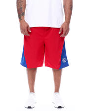 Julius Erving (DR. J) - Colorblock Tricot Shorts (B&T)-2472360
