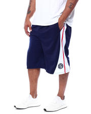 Julius Erving (DR. J) - Colorblock Tricot Shorts (B&T)-2472398