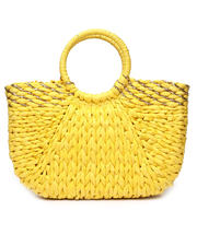 Women - Straw Tote W/ Gold Metallic Detail-2469740