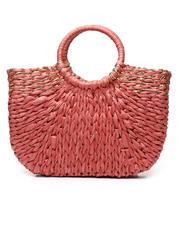 Women - Straw Tote W/ Gold Metallic Detail-2469751