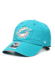 NBA, MLB, NFL Gear - Miami Dolphins Clean Up Strapback Cap-2471012