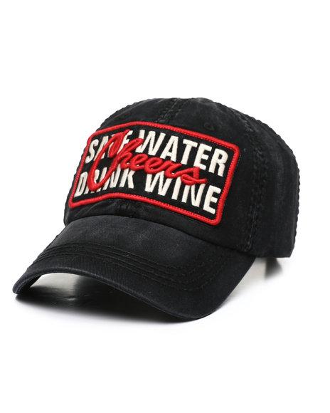 Buyers Picks - Save Water Drink Wine Ballcap