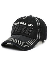Women - Don't Kill My Vibe Ballcap-2471211