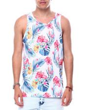 Spring-Summer-M - Paradise Floral Tank-2472094