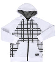 Hoodies - Sherpa lined Fleece Hoodie (8-20)-2470581