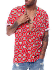Mens-Holiday - ATELIER RESORT WOVEN S/S SHIRT-2472955