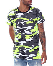 Men - S/S Mens Hi/Low Camo T-shirt-2473100