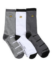 Jean-Michel Basquiat - 3 Pair Crown Crew Socks-2468588