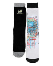 Jean-Michel Basquiat - 2 Pair Photo Crew Socks-2468592
