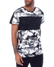 Men - Legend Colorblock Embosed Camo Shirt-2472659