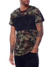 Men - Savage Colorblock Embossed Tee-2472665