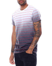 Men - SS Stripe Dip Dye Tee-2472683