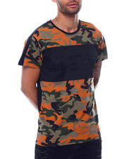Men - Legend Colorblock Embosed Camo Shirt-2472689