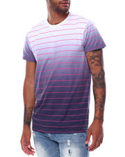 Men - SS Stripe Dip Dye Tee-2472620