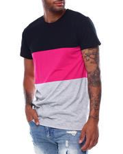 Men - SS Colorblock Tee-2472626