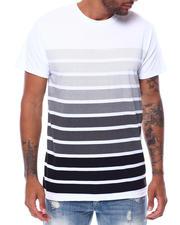 Buyers Picks - S/S Crew Neck Printed Stripe Tee-2472641