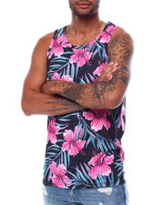 Men - All over Floral Tank-2472707