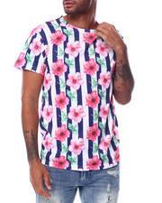 Buyers Picks - Stripe Floral Tee-2473210