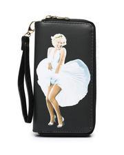 Accessories - Double Zipper Wallet W/ Wristlet Strap-2472013