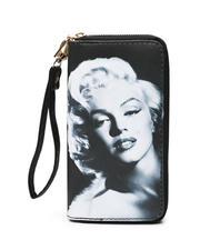 cartoons-pop-culture - Double Zipper Wallet W/ Wristlet Strap-2472015