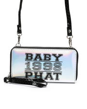 Baby Phat - Baby Phat Crossbody Wallet W/ Wristlet Strap-2472020